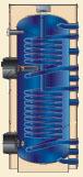 álló indirekt tároló két hőcserélővel, SO I