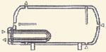 indirekt tároló 1 hőcserélővel, 750 litertől